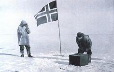 Fotografía de Roald Amundsen tomada pocos días después de que su expedición se convirtiera en la primera en llegar al Polo Sur, el 14 de diciembre de 1911.
