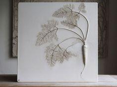 Des Fleurs fossilisées dans du Plâtre par Tactile Studio (7)
