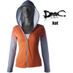 Devil May Cry Kat cosplay costume halloween costume DMC costume make-up costume xmas christmas gift new year costume unique gift for girls