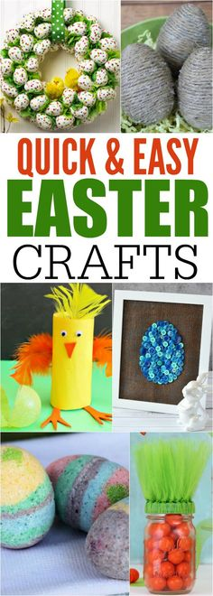 quick and easy easter crafts for kids and adults! You can easily make these Easter crafts in just minutes without spending a lot of money.