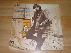 MICK ABRAHAMS BAND - S/T - UK 1st PRESS VINYL LP A1/B1 - TEXTURED GATEFOLD
