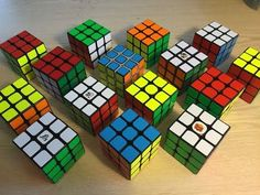 Speed Cube Mega Comparison - What cube is best for you? - YouTube