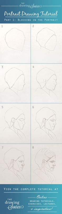 Learn how to begin a portrait drawing with this complete Portrait Drawing Tutorial at: http://www.thedrawingsource.com/portrait-drawing-tutorial.html