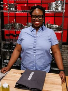 Ann Odogwu — Houston : Ann is a native of Nigeria, where cooking is a big part of the culture, so she's ready to improve her culinary skills. Ann is the only one in her family who can't cook an edible meal, and she knows she needs to develop her independence in the kitchen. She also wants to make her family proud — especially her dad — in the process.
