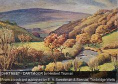 Herbert Truman Tunbridge Wells, Dartmoor, Devon, Painting, Painting Art, Paintings, Painted Canvas, Drawings
