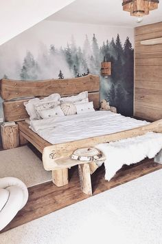 Best Ideas For Home Decor Baby Room Decor Ideas - How can I decorate my bedroom? Baby Room Decor Ideas - How do you make a crib from scratch? Diy Furniture Easy, Furniture Design, Baby Room Decor, Bedroom Decor, Bohemian Bedroom Design, Cool Woodworking Projects, Woodworking Plans, Wood Projects, Wood Design