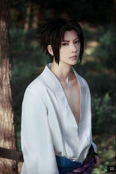 Nice Sasuke cosplay.