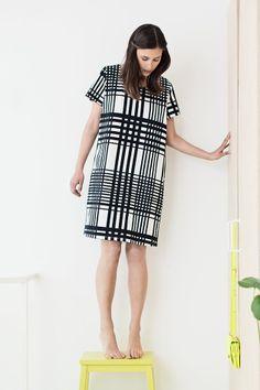 Ruudukko dress - Nanso S/S 14