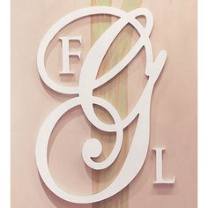 Monogram Letter Sets and Artwork in Decor : Wall Letters at PoshTots