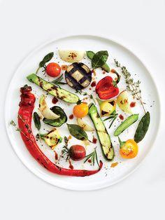 Ratatouille with grilled vegetables by chef Alain Passard of L'Arpege | © Michael Graydon & Nikole Herriott