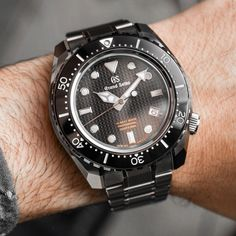 Grand Seiko Hi-Beat 36000 Professional 600m Diver's SBGH255 Watch Hands-On Hands-On