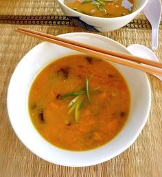 Miso Soup w/ Squash