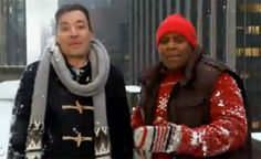 """Although Justin Timberlake doesn't show up for the """"Saturday Night Live"""" promos, host Jimmy Fallon proves that the Christmas episode is going to be a can't-miss."""