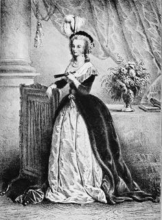 Marie Antoinette An engraving from Rose Bertin by Émile Langlade