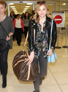 Celebrities and Louis Vuitton Luggage 13