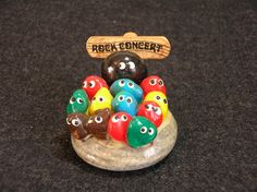 Pet Rocks..take all of the rocks and take a pic with a Rock Concert sign. Too cute