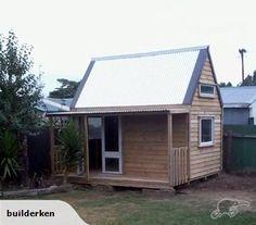 ranbuild deluxe garage with horizontal corrugated cladding