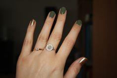 Nilens Jord Glitter Gold & Dusty Green