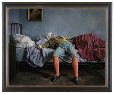 Yinka Shonibare, Fake Death Picture (Manet, The Suicide)