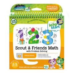 Explore maths and more with Scout and friends!  Join puppy pal Scout and his favourite friends as they play and explore counting, number recognition...