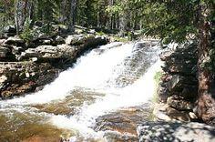 easy utah hike - upper provo river falls (uinta mountains)