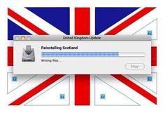 Reinstalling Scotland...