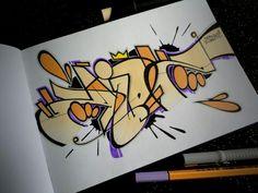 sketch Tattoo Fonts Alphabet, Calligraphy Alphabet, Graffiti Lettering, Graffiti Art, Cartoon Graffiti, Barber Tattoo, Amazing Street Art, Tag Art, Airbrush