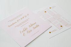 Custom made wedding invitation with map by www.makeadesign.fi / Moderni yksinkertainen hääkutsu - hääinfo - piirretty kartta / MakeaDesign