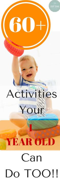 60+ Activities a One Year Old Can Do Too