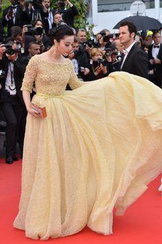 Fan Bing Bing in Elie Saab couture