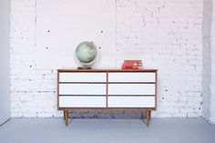 The Best Of Chicago Etsy #refinery29  http://www.refinery29.com/chicago-etsy#slide27  Department Chicago Mid-Century Modern Six Drawer Dresser Credenza, $395, available at Etsy.