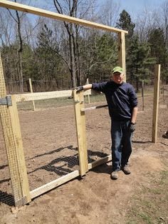 Getting Ready to Garden! How to Build a Fence and Gate for Your Garden