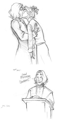 This sort of idea is basically what made me start writing Snape/OC fan fiction.