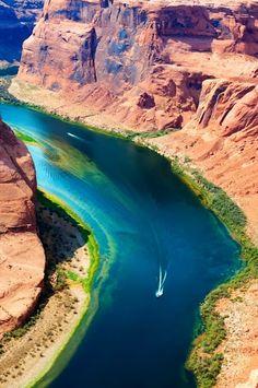 Horseshoe Bend, Arizona, United States.
