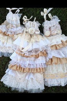 Lace Flower Girl Dress//Vintage Dress// Little Girl by RainRene, $189.00