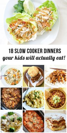 I love crockpot and slow cooker dinners but my kids often find them too mushy and boring - can't wait to give some of these a try. Esp. the lasagna!