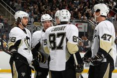 Sidney Crosby, Kris Letang <3 Black and Gold Game! #Tanger <3 #58