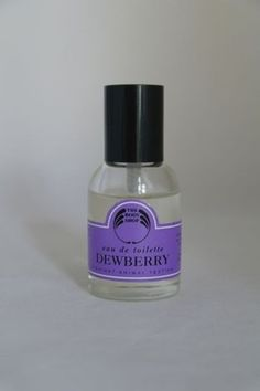 The Body shops Dewberry perfume - we used to love this - it just had to be dewberry in the 90's!