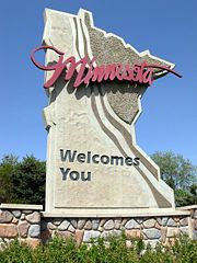 Minnesota Welcome Sign. A pleasure to see on my drives home from Iowa (its way better than the Iowa welcome sign, no offense). Minnesota Home, Minnesota Twins, Minneapolis St Paul, Mall Of America, Back Home, Stuff To Do, Fun Stuff, Welcome, Places Ive Been