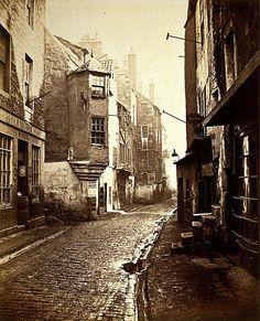 The Cowgate,Old Edinburgh, 1868