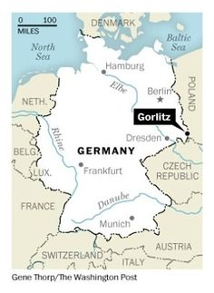 Went to Gorlitz, Poland with Eric from the Czech Republic, crossed over the river into Gortlitz, Germany!