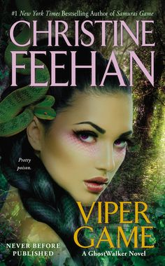 Viper Game (Game/Ghostwalker #11) by Christine Feehan | January 27, 2015 | Jove