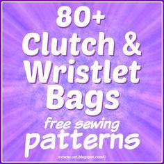 ClutchWristlet wesens-art.blogspot.com