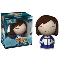 This is the Bioshock Dorbz Elizabeth Vinyl Figure that is produced by the kind folks over at Funko. This particular Dorbz is super cool. Just look at the detail and how cute Elizabeth is! A neat colle