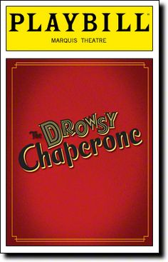 One of the shows I was most excited to see in NYC, not just because it's Canadian but because it is such a brilliant and funny musical comedy in the style of an old school musical with the brilliant observations of a modern era. Bob Martin was brilliant as the Man in Chair and Sutton Foster was perfection as Janet Van De Graaff.  Really brilliant casting all around - Aldolpho, The Chaperone, Underling and Mrs. Tottendale to name but a few.  A show I was so pleased to direct several years…