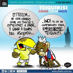 "#ElCartonDelDia para @purakuraweb ""TEIQUIRISI"" @ClubAmerica @Chivas #ChivaHermano #ChivasVsAmerica #Chivas #America"