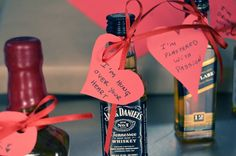 DIY liquor and hearts: #ValentinesDay gifts for guys