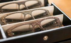 Lucas De Staël: Made in Paris Eyewear Eyewear, Luxury Fashion, Texture, Paris, Glasses, Wood, How To Make, Handmade, Style