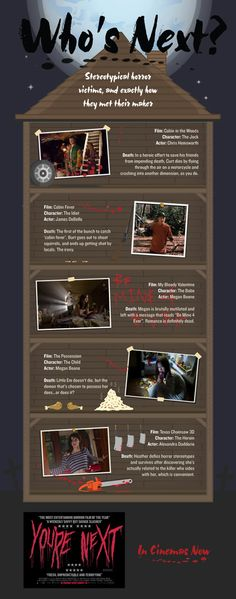 You're Next 'Movie Death' Infographic | TotalFilm.com