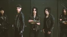 Ashley, Andy, Jake, Jinxx and CC, Behind the scenes of a BVB5 photo shoot for AP